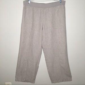 J. Jill Love Linen Wide Leg Trousers